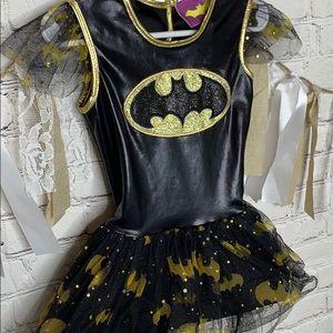 Batman Dress Halloween Costume sz Small Toddler